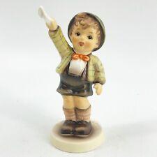 "Goebel Hummel ""Come Back Soon� #545 Tmk7 First Issue 1995 Boy Figurine Exc 4"""