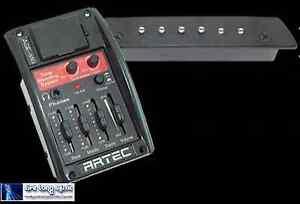 Artec AGE-MG acoustic guitar blending preamp + Magnetic Msp50 soundhole pickup.