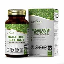 Maca Root MAX Strength 10:1 Extract 3500mg 180 Capsules   Hormones Libido Energy