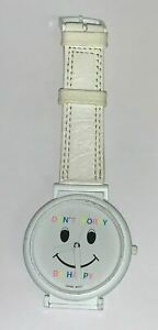 Vintage Don't Worry Be Happy Smiley Face Watch New old stock!