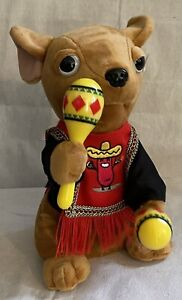 Don Miguel Animated Singing Dancing Chihuahua Stuffed Plush By Nika Int