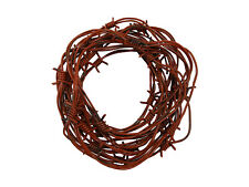 Nicky Bigs Novelties 24 Foot Fake Rusted Barbed Wire Halloween Decoration Brown