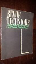 REVUE TECHNIQUE MOTO MOTOCYCLISTE N° 16 - Avril 1949