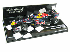 Red BULL RACING rb7 ciabatta Weltmeister WINNER Turkish GP 2011 410110201 1/43 NEW