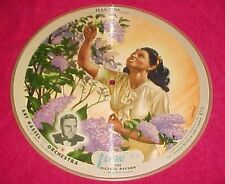 78 Vogue Picture Disc R 771 Record Art Kassel If I Could Be with You Jeannine