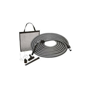 NuTone Car Care Attachment Set w/ 50 Ft Hose, Brush, Upholstery & Crevice Tools