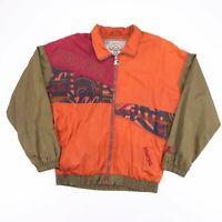 Vintage STARTER Rugged Terrain Crazy Pattern Big Logo Jacket Men's Size Medium