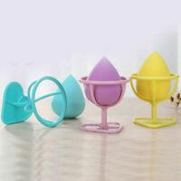 Trucco Bellezza Stencil uova Polvere Puff spugna asciugatura Display Stand Rack