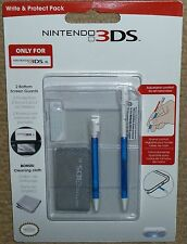 NINTENDO 3DS XL ACCESSORY PACK BRAND NEW! EXTENDING STYLUS SCREEN PROTECTOR KIT