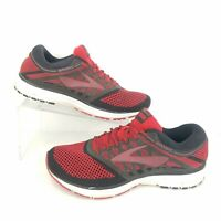 Brooks Revel Mens Size 10 Red Black Running Shoes Athletic Sneakers 1102601D669