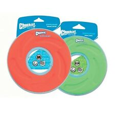 Chuckit Zipflight Frisbee Medium 21cm Toy Dog Puppy Fun Play Toys Soft