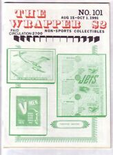 THE WRAPPER #101 - 1991 Non-sports card fanzine - Anaheim convention report