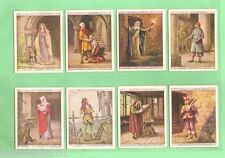 """#Gg1. 1929 """"English Period Costumes"""" Set Of (25) Cigarette Cards"""