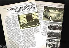 old AUTOMOBILI GRAHAM-PAIGE Cars Article / Photos / Pictures