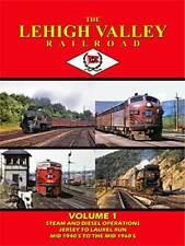 The Lehigh Valley Railroad Vol 1 DVD NEW John Pechulis anthracite laurel run, PA