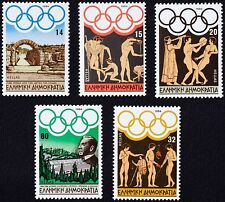 Olympic Games Los Angeles 1984 MNH, Discus thrower Panatheenean Stadium Crypt.