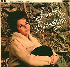 BRENDA LEE Sincerely Vinyl Record LP Brunswick LAT 8396 1961