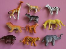 Plastic Jungle / Zoo Animals x 10* Party Bag Fillers**Party Prizes*Zoo