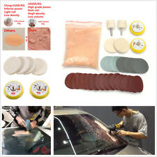 Universal 34 Pcs Car Auto Windscreen Glass Scratch Remover Polishing Repair Kit