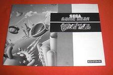 Notice Fantasy Zone [Game Gear] Sega NO Master System *JRF