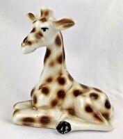 Vintage Taiwan Sitting Giraffe Figurine