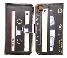 Retro & Classic Cassette Design Wallet Leather Case for HTC Desire 626 626S