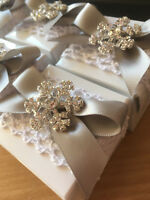 Snowflake Wedding Favour - Christmas / Winter Wedding Favours / Table Decoration