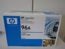 Original Toner Hp 96 A (c4096a) LJET 2100, 2200 du distributeur NOUVEAU & NEUF dans sa boîte