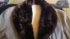 40's 50's Jacket Canadienne Coat Golden Sheep Collar S.42.44 M. In France