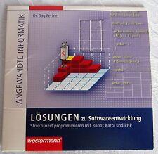 Lehrer Ausgabe angewandte Informatik Lösungen Softwareentwicklung PHP auf CD-ROM