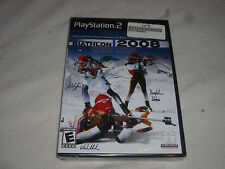 BRAND NEW FACTORY SEALED PLAYSTATION 2 BIATHLON 2008 GAME PS2 NFS OLYMPIC SKIING