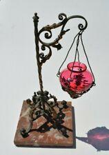 Veilleuse lampe a huile napoléon III Charles x