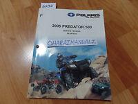2005 Polaris Predator 500 Service Manual OEM