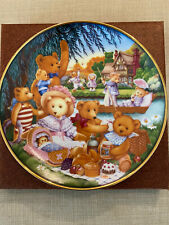 Franklin Mint Collectors Plate - Teddy Bear Picnic
