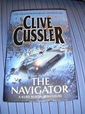 """CLIVE CUSSLER """"THE NAVIGATOR"""" 1ST EDITION HARDBACK"""
