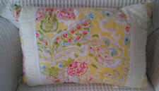 Dena Home Retreat Square Multi-colored Rectangle Decorative Pillow-New with Tags