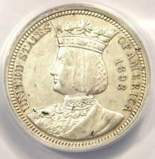 1893 Isabella Silver Quarter 25C - ANACS XF40 Details - Rare Commemorative Coin!