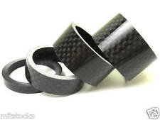 4 pieces Bike Bicycle Stem Carbon Spacer 28.6mm 20 15 10 5mm