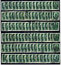 REPUBBLICA SOCIALE 1944 25 lire 100 ESEMPLARI USATI OFFERTISSIMA!!!!