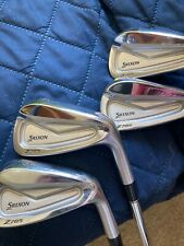 New listing golf clubs irons set 4-pw srixon 2020 Z785 stiff flex standard size, used twice.