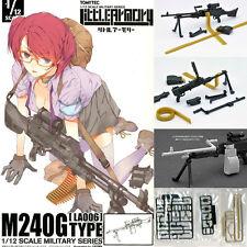 Little Armory LA006 1/12 M240G Type Plastic Model (Figma Size) Tomytec Japan