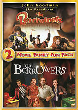 The Borrowers 2-Movie Family Fun Pack (DVD, 2014) John Goodman  ***NEW!!***
