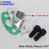 "PITCH 39MM TURBO T3 T4 OIL DRAIN OUTLET FLANGE GASKET KIT FEMALE 1/2"" NPT  SL"