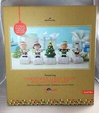 Hallmark Peanuts Gang Christmas Light Show Collector's Set Special Edition 2015