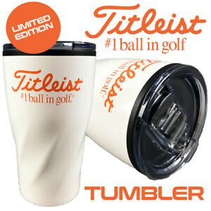 Titleist Golf Velocity Coffee/Drinks Tumbler Flask LIMITED EDITION - NEW!