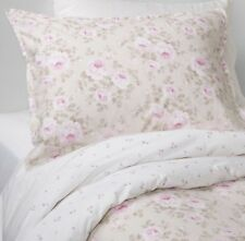 Simply Shabby Chic 3pc Tan Pink Dutchess Blossom Duvet Cover Set Full Queen