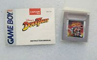 Disney's DuckTales (Nintendo Game Boy, 1990), W manual Hard Case