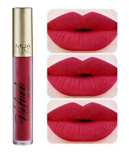 MUA LUXE Velvet Lip Lacquer RECKLESS Matte Wine Red Lipstick Sexy Pin Up Girl!