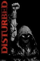 DISTURBED - FIST POSTER - 22x34 MUSIC 17151