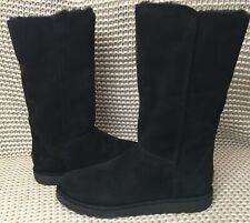 UGG CLASSIC TALL ABREE II NERO BLACK SUEDE Boot US 10 / EU 41 / UK 8.5